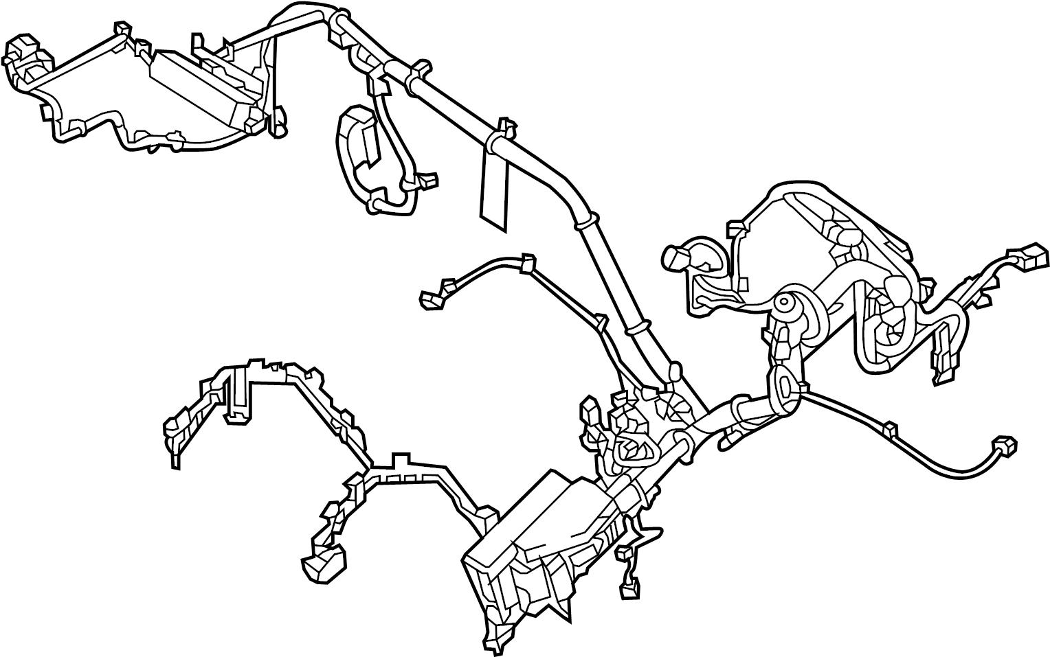 Nissan Pathfinder Engine Wiring Harness  Other