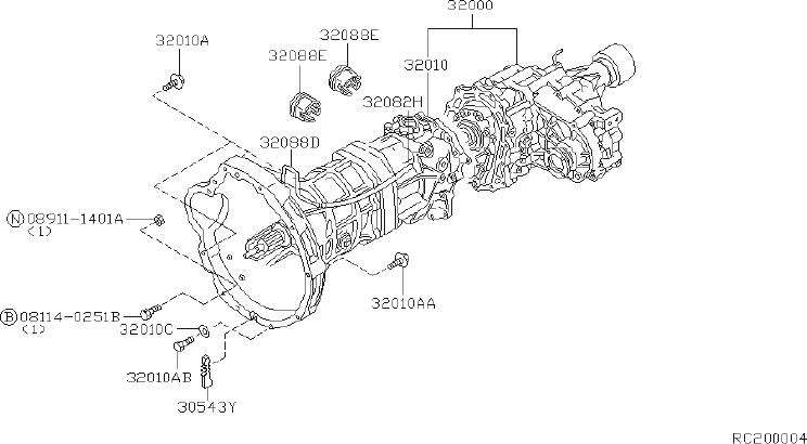 Nissan Frontier Manual Transmission With Transfer