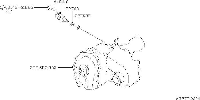 Nissan Pathfinder Vehicle Speed Sensor